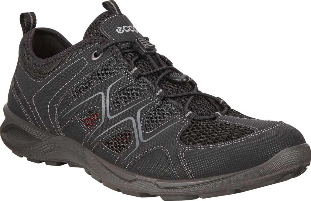 Men's ECCO Terracruise LT Low Vent Trail Shoe, Black/Black Synthetic/Textile, large, image 1