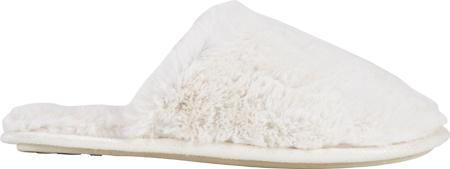Women's Daniel Green Holland Scuff Slipper, Cream Faux Fur, large, image 1