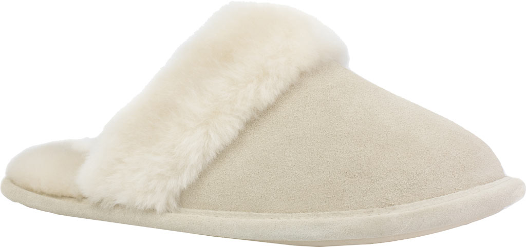 Women's Daniel Green Pammy Scuff Slipper, Sand Suede, large, image 1