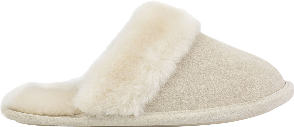 Women's Daniel Green Pammy Scuff Slipper, Sand Suede, large, image 2