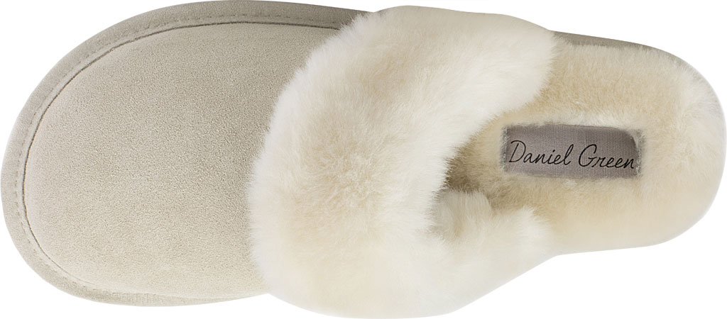Women's Daniel Green Pammy Scuff Slipper, Sand Suede, large, image 4