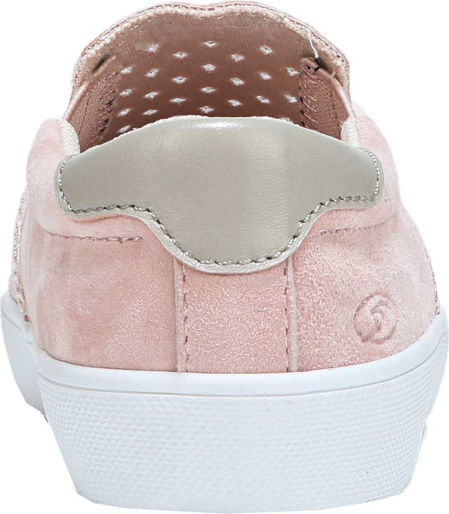 Girls' Dr. Scholl's Scout Slip-On Sneaker, Blush Suede, large, image 3