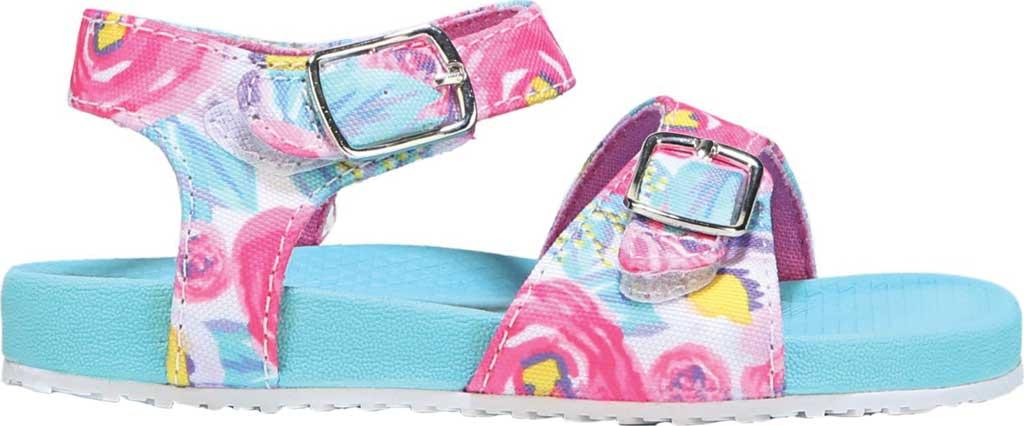 Infant Girls' Dr. Scholl's Isla Ankle Strap Sandal, Multi Floral Canvas, large, image 2