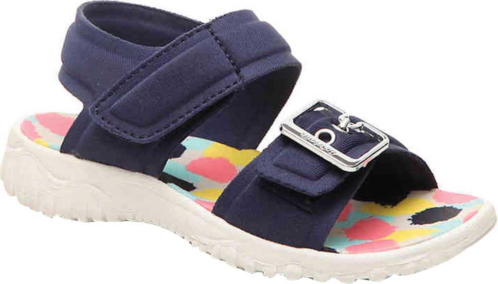 Infant Girls' Dr. Scholl's Sayler Ankle Strap Sandal, Navy Neoprene, large, image 1