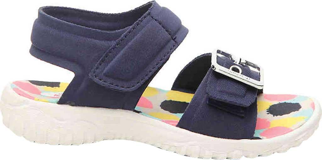 Infant Girls' Dr. Scholl's Sayler Ankle Strap Sandal, Navy Neoprene, large, image 2