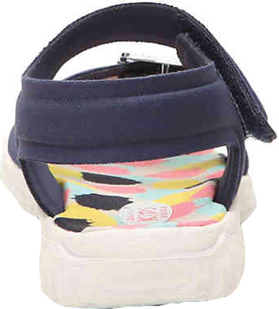 Infant Girls' Dr. Scholl's Sayler Ankle Strap Sandal, Navy Neoprene, large, image 4