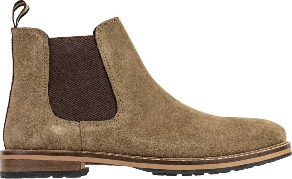 Men's Crevo Rory Chelsea Boot, Taupe Suede, large, image 1