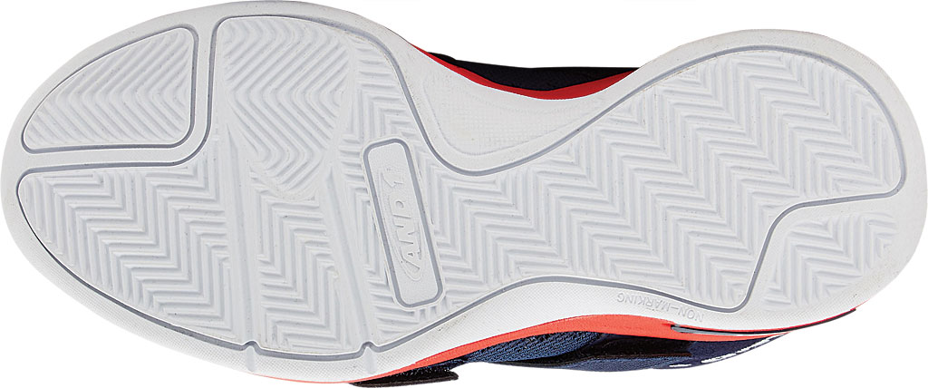 Children's AND1 Chosen One II Basketball Shoe, Peacoat/Fiery Red/White, large, image 3