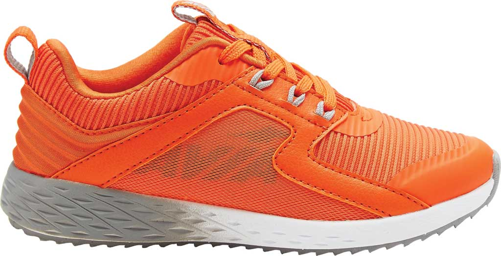 Boys' Avia Avi-Ryder Sneaker, Flame/Quiet Gray/Reflective Silver, large, image 1