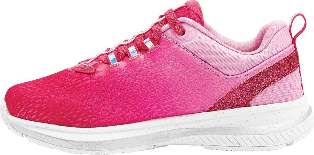 Girls' Avia Avi-Factor Sneaker, Cabaret/Fuchsia Pink/Iridescent/Silver, large, image 2
