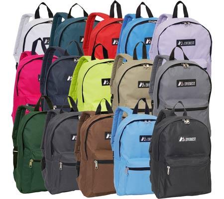 Everest Basic Backpack, Royal Blue, large, image 2
