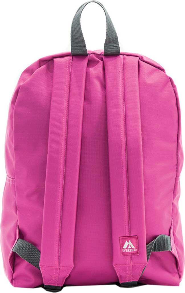 Everest Basic Backpack, Magenta Orchid, large, image 2