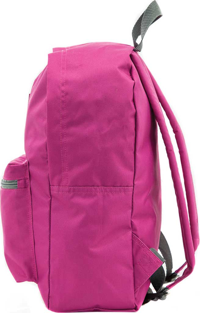 Everest Basic Backpack, Magenta Orchid, large, image 3