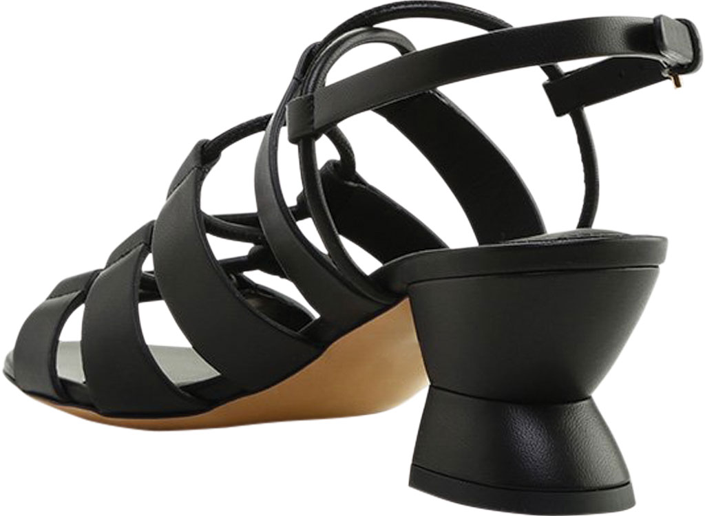 Women's Salvatore Ferragamo Sirmio 55 Cage Sandal, Nero Leather, large, image 2