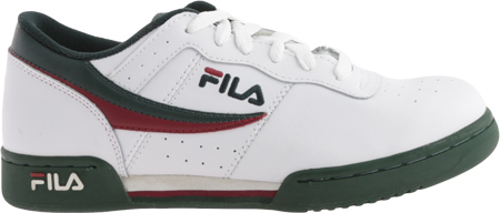 Men's Fila Original Fitness 11F16LT Sneaker, White/Sycamore/Biking Red, large, image 2