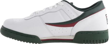 Men's Fila Original Fitness 11F16LT Sneaker, White/Sycamore/Biking Red, large, image 3