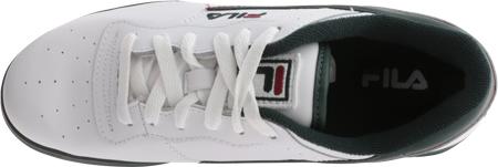 Men's Fila Original Fitness 11F16LT Sneaker, White/Sycamore/Biking Red, large, image 5