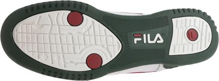 Men's Fila Original Fitness 11F16LT Sneaker, White/Sycamore/Biking Red, large, image 6