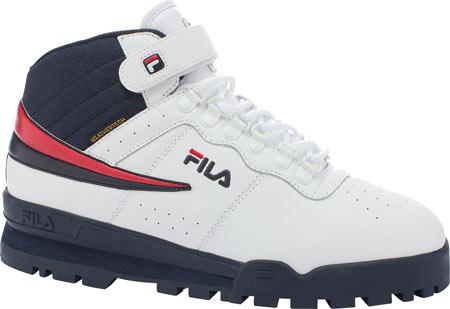 Men's Fila F-13 Weather Tech, White/Fila Navy/Fila Red, large, image 1