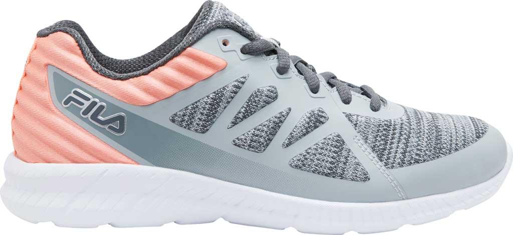 Women's Fila Memory Finity 3 Running Sneaker, Highrise/Castlerock/Desert Flower, large, image 1