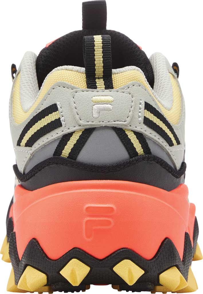 Women's Fila Oakmont TR Sneaker, Gardenia/Black/Fiery Coral, large, image 4