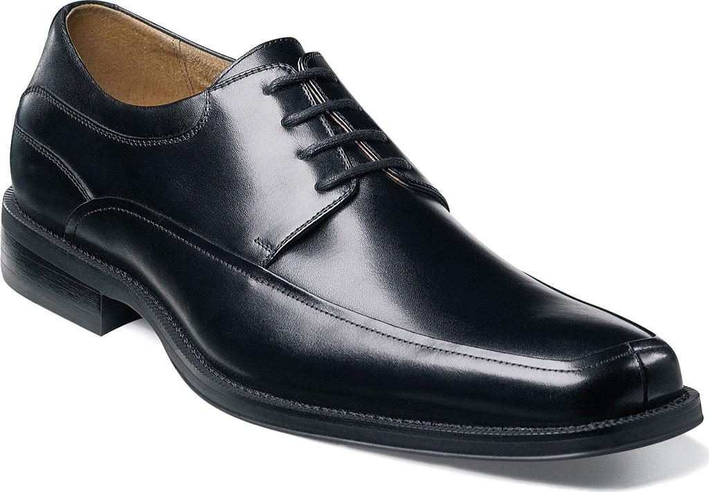 Men's Florsheim Cortland, Black Buffalo Leather, large, image 1