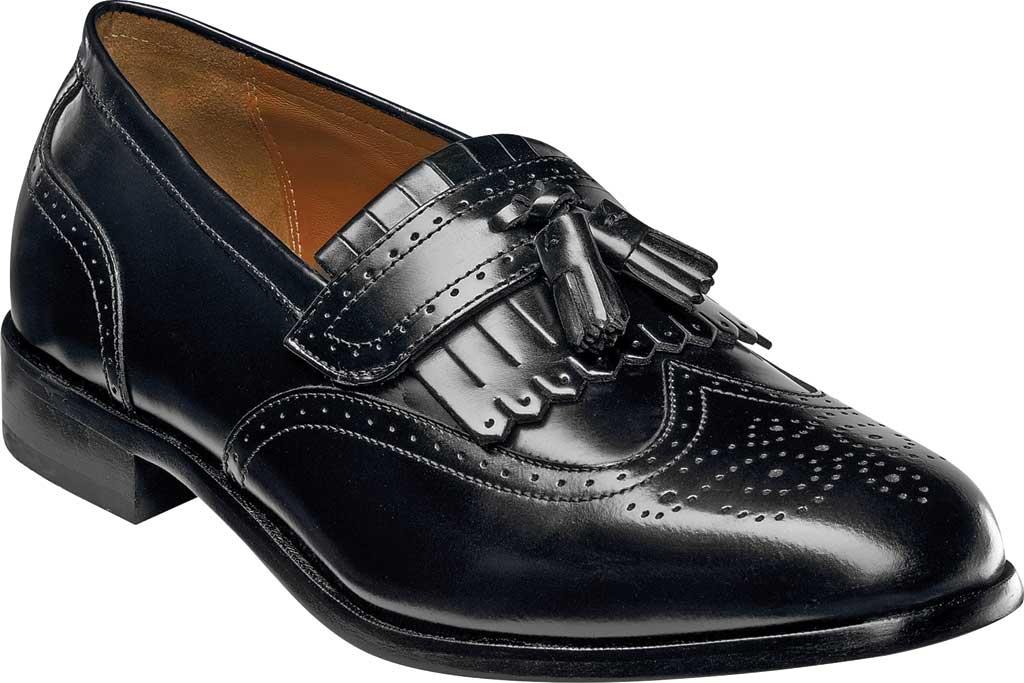 Men's Florsheim Brinson, Black Leather, large, image 1