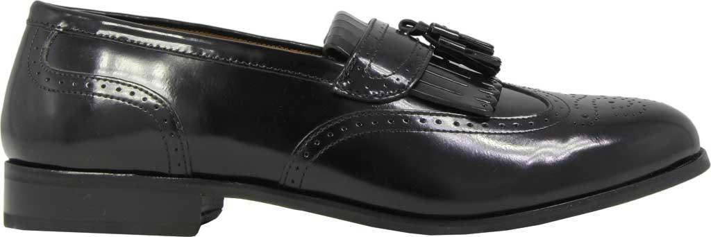 Men's Florsheim Brinson, Black Leather, large, image 2