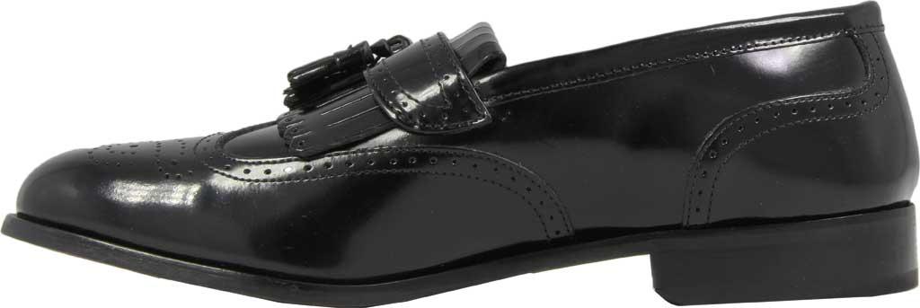 Men's Florsheim Brinson, Black Leather, large, image 3