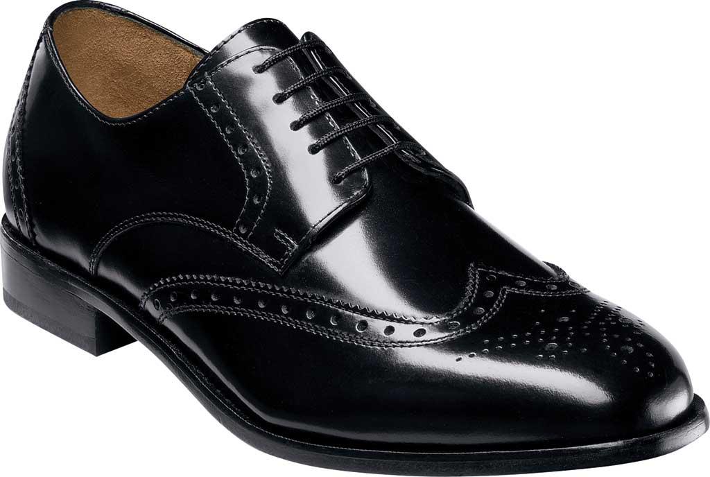Men's Florsheim Brookside, Black Leather, large, image 1