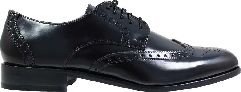 Men's Florsheim Brookside, Black Leather, large, image 2