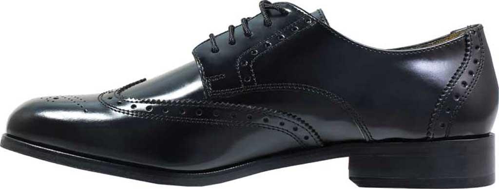 Men's Florsheim Brookside, Black Leather, large, image 3