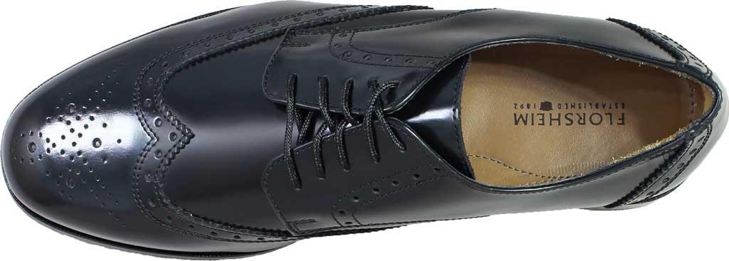 Men's Florsheim Brookside, Black Leather, large, image 6