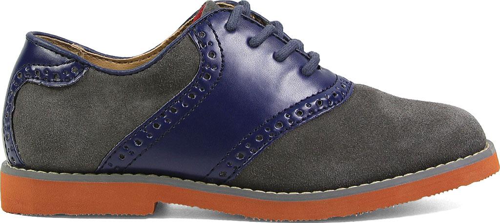 Boys' Florsheim Kennett Jr. Saddle Shoe, Navy Multi, large, image 2