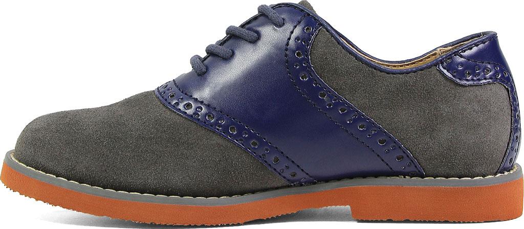 Boys' Florsheim Kennett Jr. Saddle Shoe, Navy Multi, large, image 3