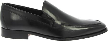 Men's Florsheim Jacobi Moc Slip On, Black Leather, large, image 2