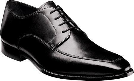Men's Florsheim Jacobi Moc Oxford, Black Leather, large, image 1