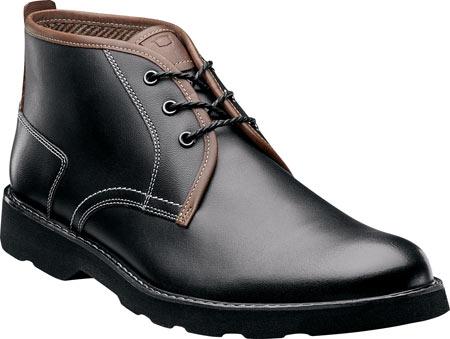 Men's Florsheim Casey Chukka Boot, Black Leather, large, image 1