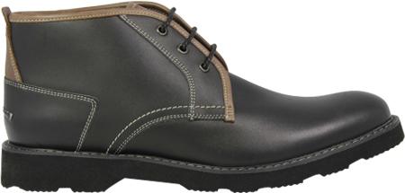 Men's Florsheim Casey Chukka Boot, Black Leather, large, image 2