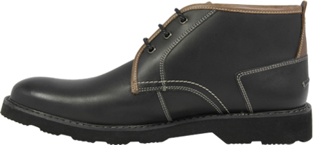 Men's Florsheim Casey Chukka Boot, Black Leather, large, image 3