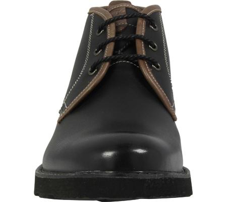 Men's Florsheim Casey Chukka Boot, Black Leather, large, image 4