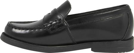 Boys' Florsheim Croquet Penny Jr., Black Smooth Leather, large, image 3