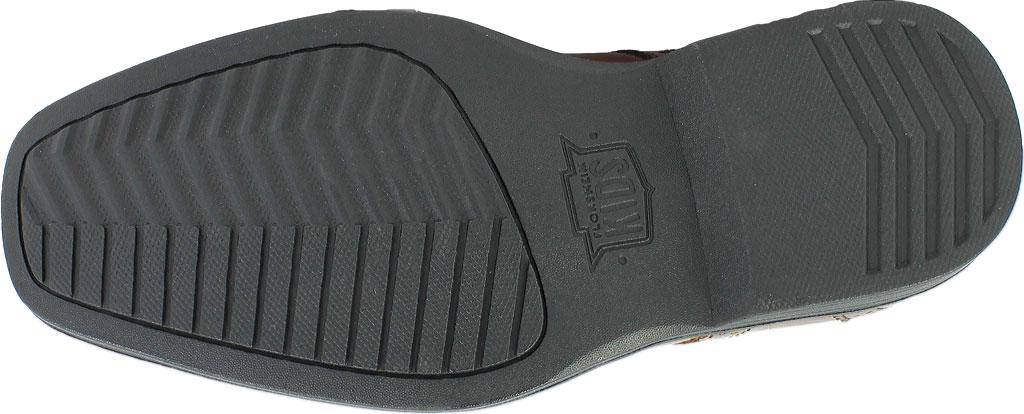 Boys' Florsheim Reveal Wingtip Jr., Cognac Leather, large, image 7