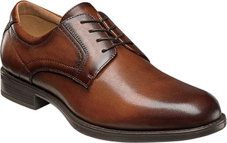 Men's Florsheim Midtown Plain Toe Oxford, Cognac Smooth Leather, large, image 1
