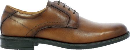 Men's Florsheim Midtown Plain Toe Oxford, Cognac Smooth Leather, large, image 2