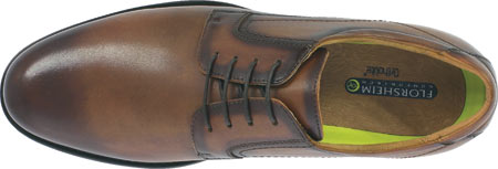 Men's Florsheim Midtown Plain Toe Oxford, Cognac Smooth Leather, large, image 3