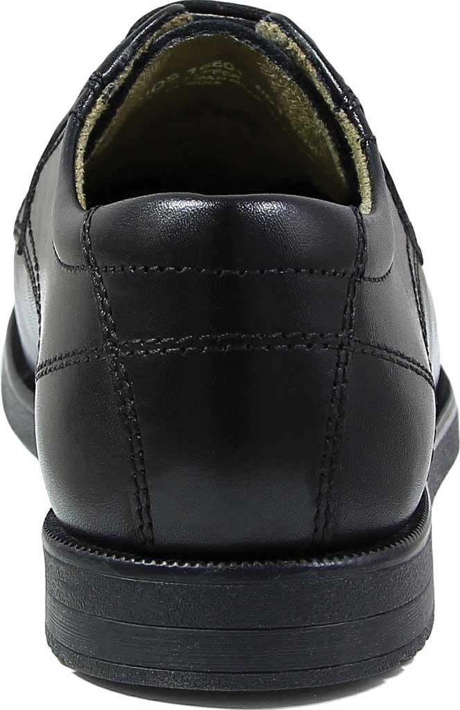 Boys' Florsheim Midtown Plain Oxford, Jr., Black Leather, large, image 5