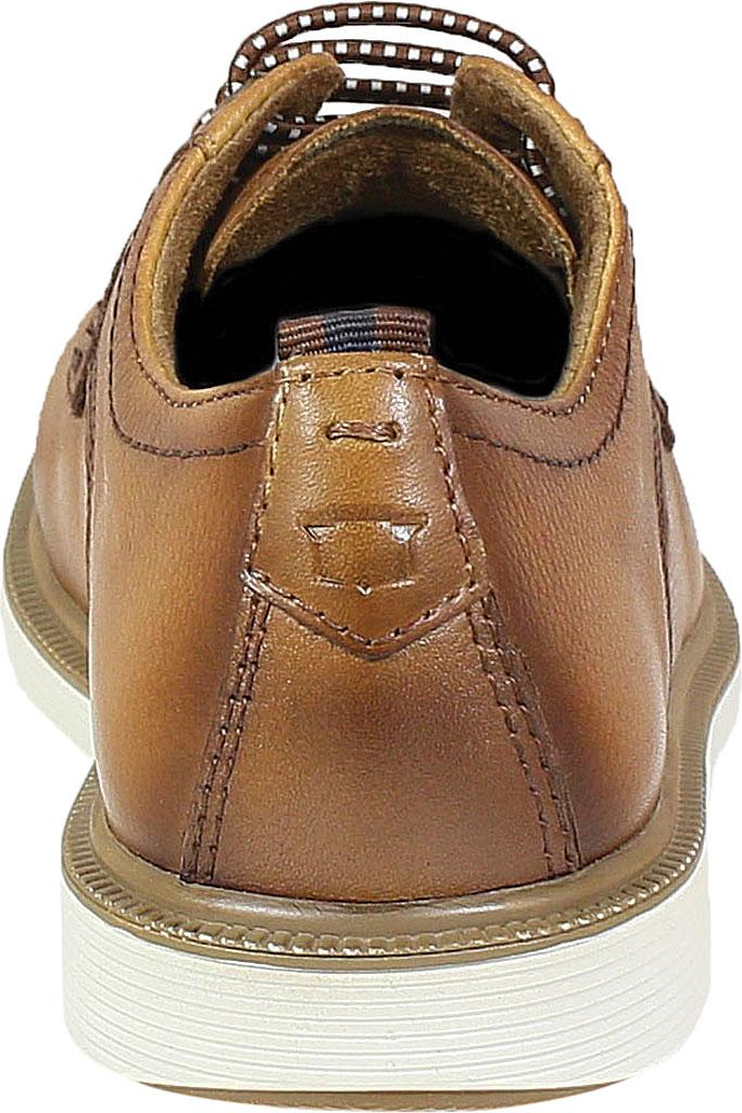 Boys' Florsheim Supacush Plain Toe Oxford Jr., Cognac Smooth Leather, large, image 4
