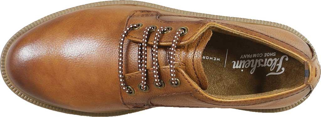 Boys' Florsheim Supacush Plain Toe Oxford Jr., Cognac Smooth Leather, large, image 5