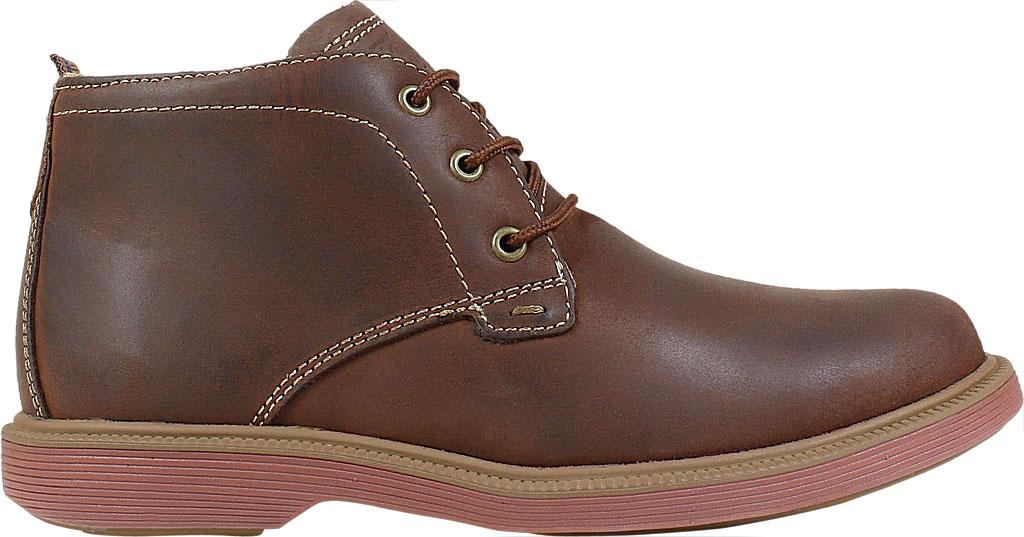 Boys' Florsheim Supacush Chukka Boot Jr., Brown Chocolate Leather, large, image 2